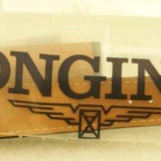 Relojes - Longines: CORREA LONGINES ALLIGATOR NUEVA ESTRENO CON ETIQUETAS 21MM. Lote 192537768