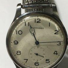 Relógios - Longines: RELOJ LONGINES CARGA MANUAL CAJA DE ACERO ANTIGUA. Lote 193754625