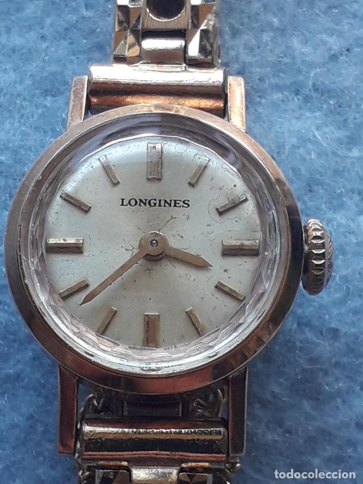 Relojes - Longines: Reloj marca Longines. Clásico de dama. Funcionando - Foto 9 - 193872407