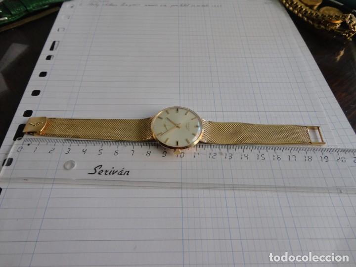 Relojes - Longines: Reloj de caballero Longines en oro máquina 490 - Foto 10 - 196172903