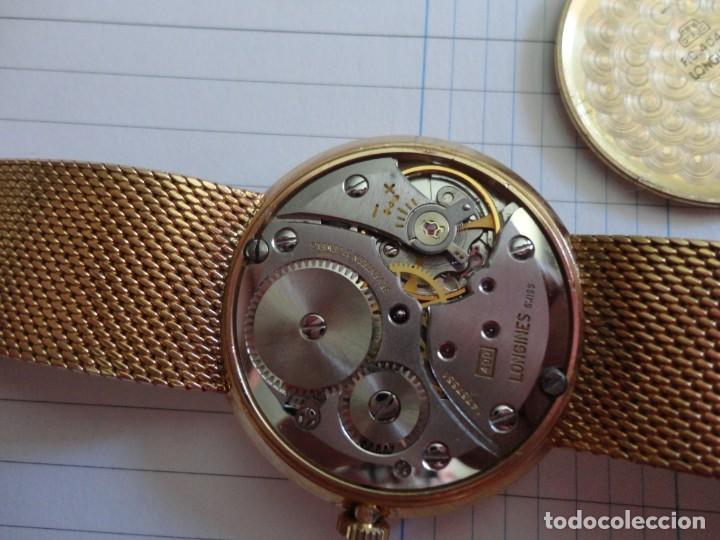 Relojes - Longines: Reloj de caballero Longines en oro máquina 490 - Foto 3 - 196172903