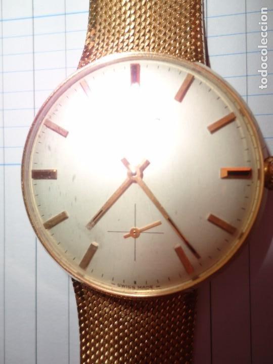 Relojes - Longines: Reloj de caballero Longines en oro máquina 490 - Foto 5 - 196172903