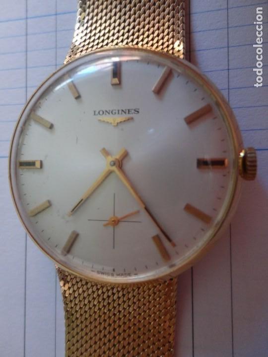 Relojes - Longines: Reloj de caballero Longines en oro máquina 490 - Foto 6 - 196172903