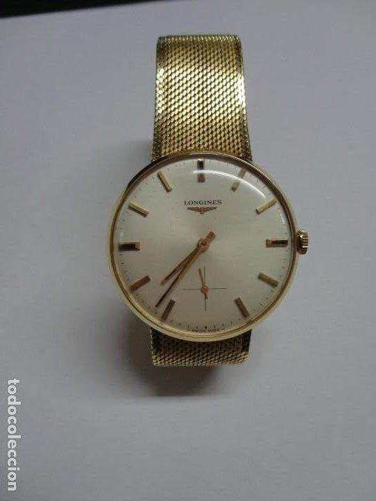 RELOJ DE CABALLERO LONGINES EN ORO MÁQUINA 490 (Relojes - Relojes Actuales - Longines)