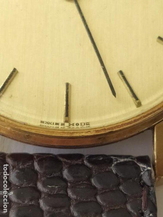 Relojes - Longines: RELOJ LONGINES CAJA DE ORO MACIZO DE LEY 18 K 0.750 - Foto 5 - 196228482