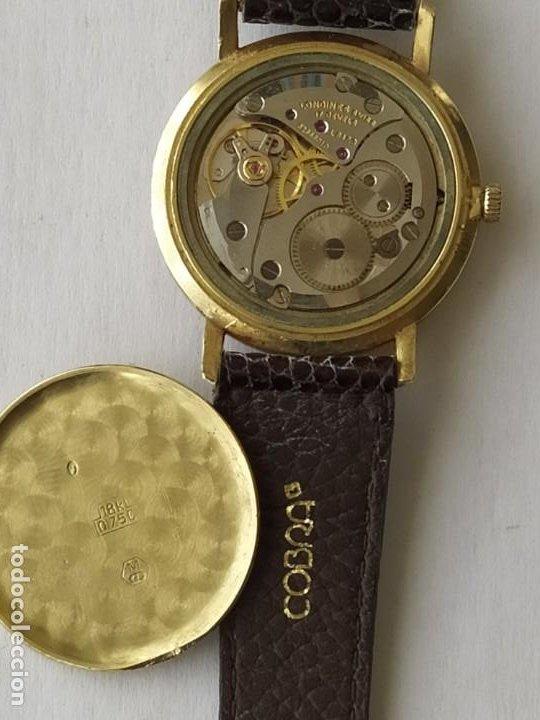 Relojes - Longines: RELOJ LONGINES CAJA DE ORO MACIZO DE LEY 18 K 0.750 - Foto 7 - 196228482