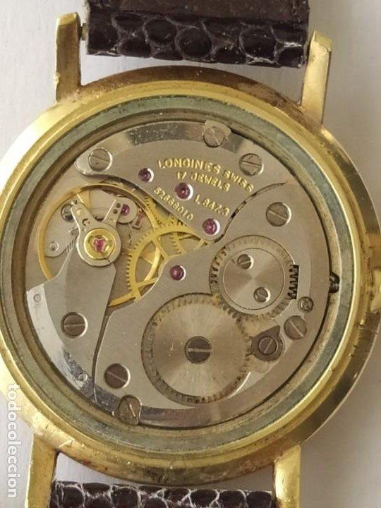 Relojes - Longines: RELOJ LONGINES CAJA DE ORO MACIZO DE LEY 18 K 0.750 - Foto 8 - 196228482