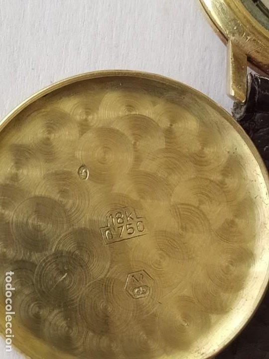 Relojes - Longines: RELOJ LONGINES CAJA DE ORO MACIZO DE LEY 18 K 0.750 - Foto 9 - 196228482