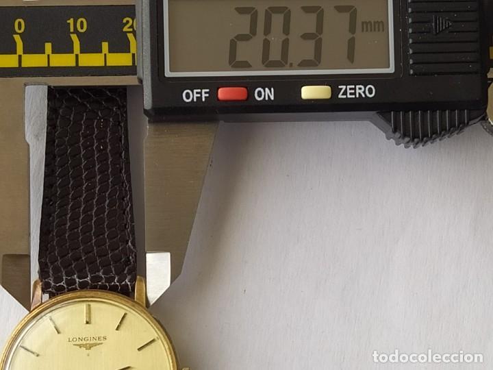 Relojes - Longines: RELOJ LONGINES CAJA DE ORO MACIZO DE LEY 18 K 0.750 - Foto 11 - 196228482