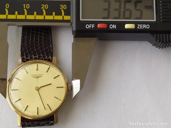 Relojes - Longines: RELOJ LONGINES CAJA DE ORO MACIZO DE LEY 18 K 0.750 - Foto 12 - 196228482