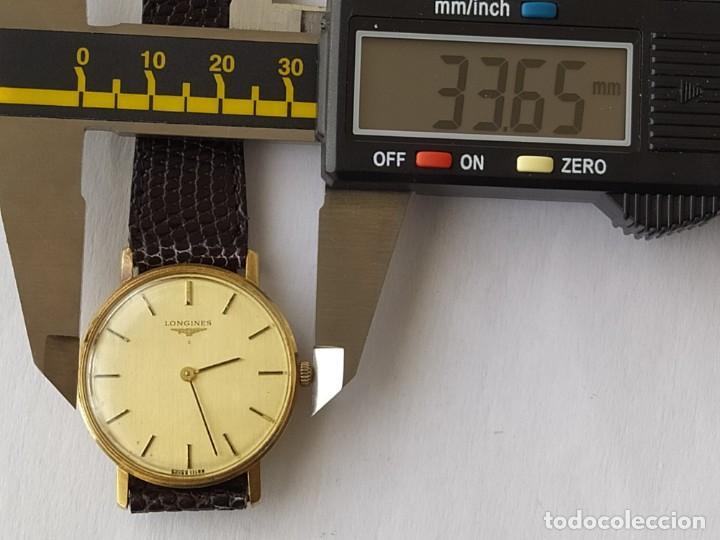 Relojes - Longines: RELOJ LONGINES CAJA DE ORO MACIZO DE LEY 18 K 0.750 - Foto 13 - 196228482