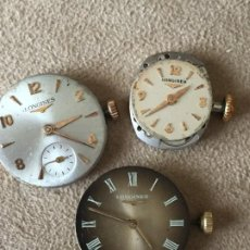 Relojes - Longines: 3 LONGINES. Lote 197850581