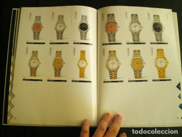 Relojes - Longines: LONGINES. CATÁLOGO GENERAL 2001 + CD DE USO INTERNO. MUY BUEN ESTADO. - Foto 2 - 198124251