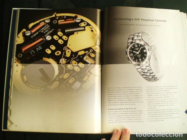 Relojes - Longines: LONGINES. CATÁLOGO GENERAL 2001 + CD DE USO INTERNO. MUY BUEN ESTADO. - Foto 3 - 198124251