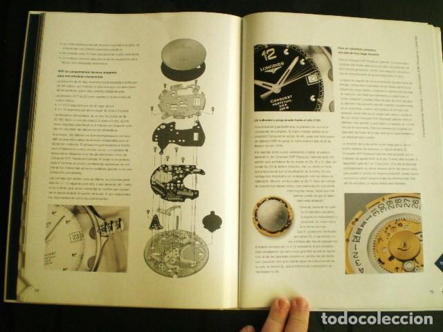 Relojes - Longines: LONGINES. CATÁLOGO GENERAL 2001 + CD DE USO INTERNO. MUY BUEN ESTADO. - Foto 4 - 198124251