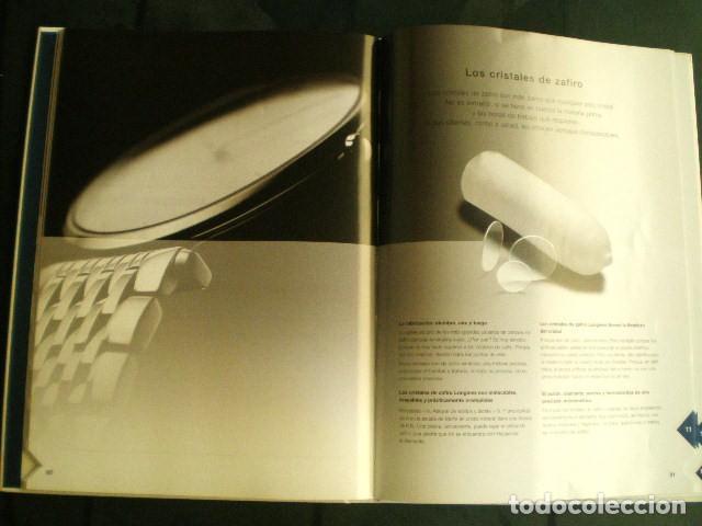Relojes - Longines: LONGINES. CATÁLOGO GENERAL 2001 + CD DE USO INTERNO. MUY BUEN ESTADO. - Foto 5 - 198124251