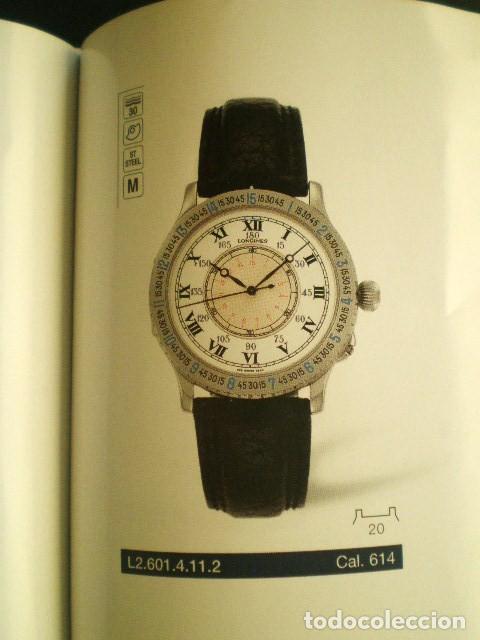 Relojes - Longines: LONGINES. CATÁLOGO GENERAL 2001 + CD DE USO INTERNO. MUY BUEN ESTADO. - Foto 8 - 198124251