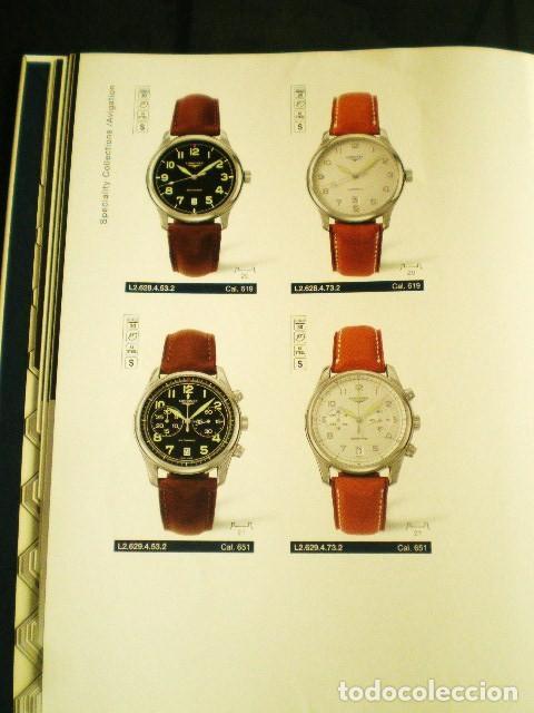 Relojes - Longines: LONGINES. CATÁLOGO GENERAL 2001 + CD DE USO INTERNO. MUY BUEN ESTADO. - Foto 9 - 198124251