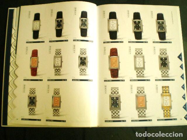 Relojes - Longines: LONGINES. CATÁLOGO GENERAL 2001 + CD DE USO INTERNO. MUY BUEN ESTADO. - Foto 10 - 198124251