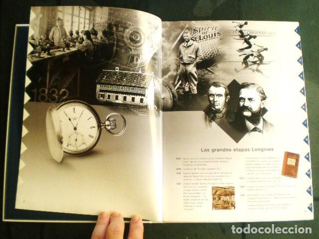 Relojes - Longines: LONGINES. CATÁLOGO GENERAL 2001 + CD DE USO INTERNO. MUY BUEN ESTADO. - Foto 11 - 198124251
