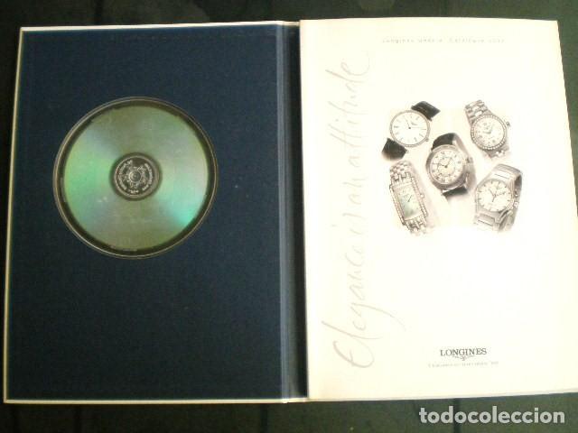 Relojes - Longines: LONGINES. CATÁLOGO GENERAL 2001 + CD DE USO INTERNO. MUY BUEN ESTADO. - Foto 12 - 198124251