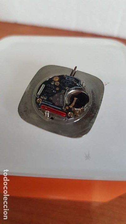 Relojes - Longines: Maquina completa LONGINES de cuarzo calibre Longines 150.2, esfera original blanca, agujas doradas. - Foto 4 - 199355421