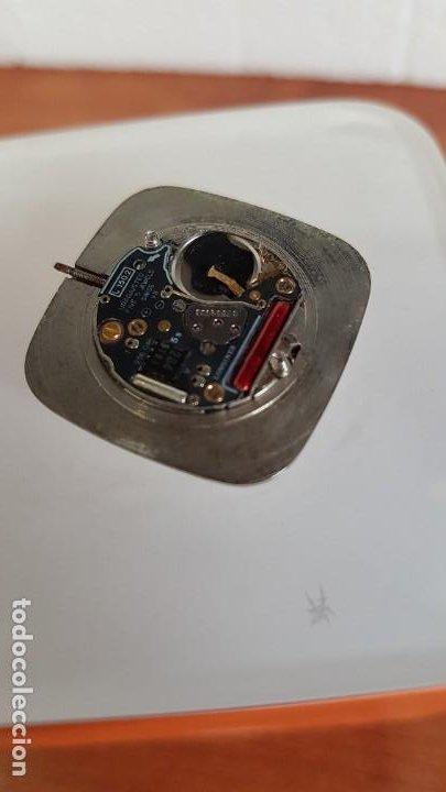 Relojes - Longines: Maquina completa LONGINES de cuarzo calibre Longines 150.2, esfera original blanca, agujas doradas. - Foto 6 - 199355421