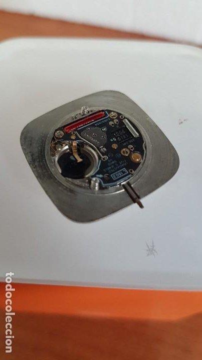 Relojes - Longines: Maquina completa LONGINES de cuarzo calibre Longines 150.2, esfera original blanca, agujas doradas. - Foto 8 - 199355421