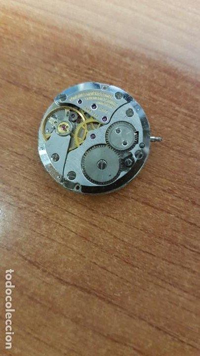 Relojes - Longines: Maquina completa LONGINES, cuerda calibre Longines L 847.4, esfera original en blanca, agujas negras - Foto 4 - 199465023