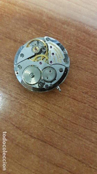 Relojes - Longines: Maquina completa LONGINES, cuerda calibre Longines L 847.4, esfera original en blanca, agujas negras - Foto 5 - 199465023