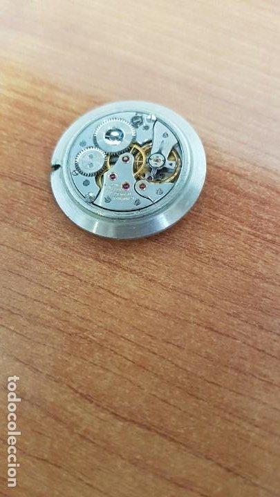 Relojes - Longines: Maquina completa LONGINES, cuerda calibre Longines 232, esfera original en blanca, sin agujas - Foto 6 - 199627973