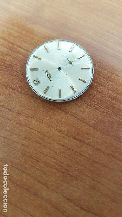 Relojes - Longines: Maquina completa LONGINES, cuerda calibre Longines 232, esfera original en blanca, sin agujas - Foto 9 - 199627973
