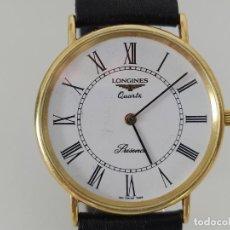 Relojes - Longines: LONGINES CLASSIC PRESENCE QUARTZ L4 627 6 DE ORO 18 K AÑO 1999 . Lote 200758761