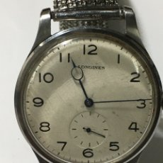 Relojes - Longines: RELOJ LONGINES CARGA MANUAL CAJA DE ACERO ANTIGUA. Lote 205122831