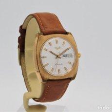 Relojes - Longines: LONGINES AUTOMATIC-RELOJ DE PULSERA DE CABALLERO-CON CALENDARIO-FUNCIONANDO. Lote 206124901