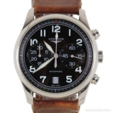 Relógios - Longines: LONGINES MASTER COLLECTION CRONÓGRAFO AVIACIÓN. Lote 180879550