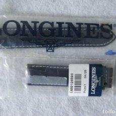 Relógios - Longines: LONGINES CORREA CUERO 21 MM ORIGINAL NUEVA ESTRENO RELOJ PULSERA MODERNO. Lote 207285190