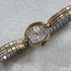 Relojes - Longines: BONITO RELOJ DE CUERDA MANUAL DE LA MARCA WITTNAUER-LONGINES, FUNCIONA, CHAPADO EN ORO, AÑOS 30. Lote 208458885