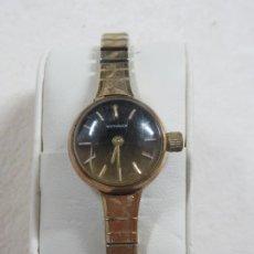Relojes - Longines: BONITO RELOJ DE CUERDA MANUAL DE LA MARCA WITTNAUER-LONGINES, FUNCIONA, CHAPADO EN ORO, AÑOS 30. Lote 210102140