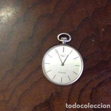 Relojes - Longines: RELOJ BOLSILLO... LONGINES FLAGSHIP.. TAMAÑO MEDIO. . FINO Y MUY ELEGANTE. Lote 210245931