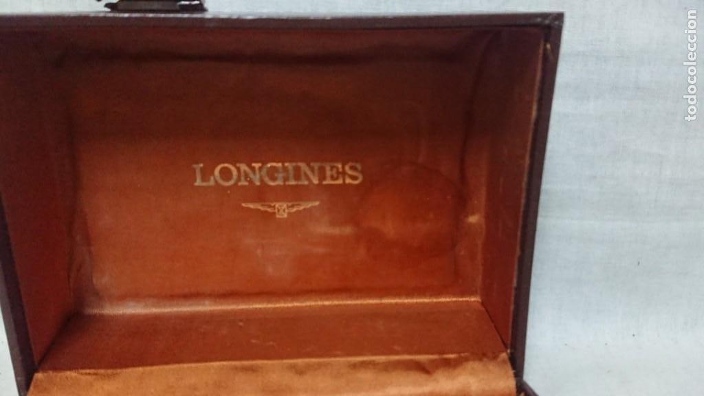 Relojes - Longines: ANTIGUA CAJA DE RELOJ LONGINES - Foto 3 - 210343291