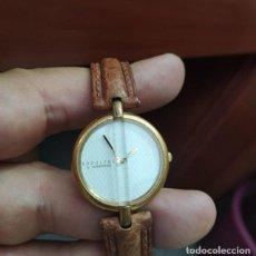 Relojes - Longines: RELOJ SEÑORA ..RODOLPHE..BY LONGINES AÑOS 80..CON CORREA PIEL DE BÚFALO. Lote 212078836