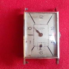 Relógios - Longines: ANTIGUO RELOJ UNIVERSAL GENEVE CARGA MANUAL. NO VA .MIDE 3CM X 2CM. Lote 212835371