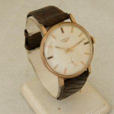Relógios - Longines: LONGINES MECANICO CALIBRE 490 CLASICO CHAPADO EN ORO 34.5MM. Lote 217240138