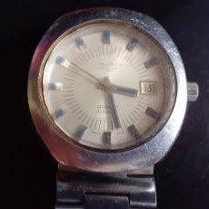 Relojes - Longines: RELOJ LONGINES COMET AUTOMATIC FUNCIONA BIEN 39 MM DIAMETRO. Lote 218228160