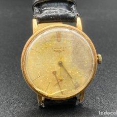 Relógios - Longines: ANTIGUO RELOJ A CUERDA LONGINES 30L , FUNCIONANDO , NECESARIO REPARAR. Lote 221486881