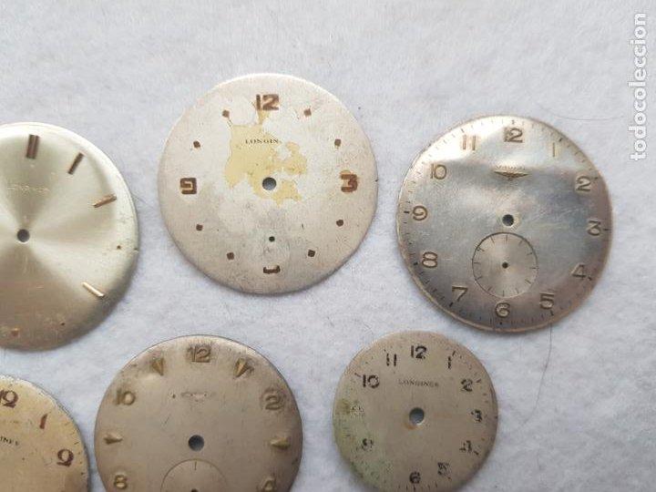 Relojes - Longines: LOTE DE 6 ESFERAS LONGINES RELOJES PULSERA 25 A 35 MM D17 - Foto 3 - 221582756