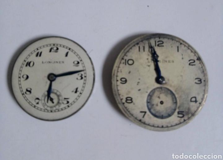 DOS MÁQUINAS LONGINES PARA RECAMBIOS (Relojes - Relojes Actuales - Longines)