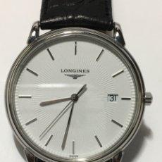 Relojes - Longines: RELOJ LONGINES LES GRANDES CLASIQUES QUARTZ CAJA DE ACERO Y CORREA ORIGINAL DE PIEL. Lote 222480358
