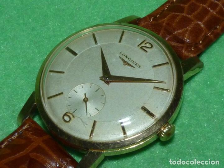 PRECIOSO LONGINES CALIBRE 12.68Z CARGA MANUAL 17 RUBIS GRANDE AÑOS 50 (Relojes - Relojes Actuales - Longines)